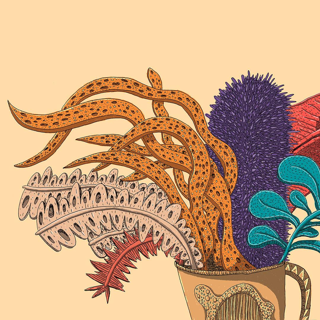 Verträumte Pflanze